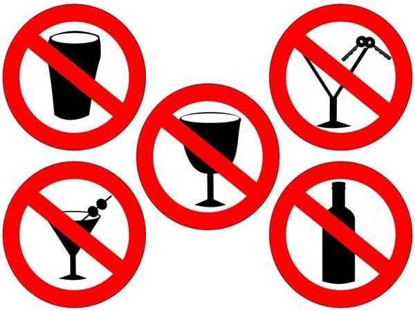 Нет алкоголю при простатите